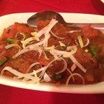 Chicken chili msala