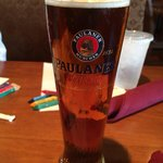 Excellent Paulaner Oktoberfest beer at Siegi's
