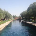 La piscine... un vrai canal