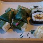 9 piece kakinohazushi set