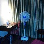 Fan installed AC not working