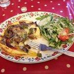 medditeranian special omelette