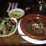 Lamb Tagine, salad and couscous