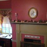 Fireplace in Jackson Bedroon