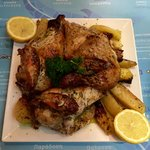Roasted Greek Chicken-Delicious!!