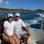En Route to Dive Site - St Thomas