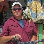 Poncho the Iguana