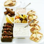 Perfect for sharing Medusa Meze plate