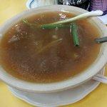 red shark fin soup