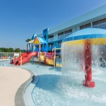Children's waterpark area