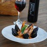 sea food rissoto