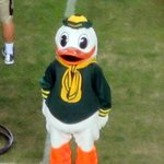 Oregon Duck Mascot, University of Oregon, Eugene, Oregon