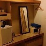In-room amenities.