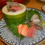 Sashimi misto (dopo l'assaggio!)
