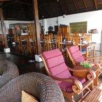 Main dining/sitting area