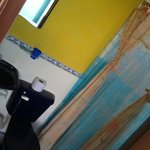 shower. no moskitoes!
