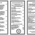Big Eats Winter 2014 menu
