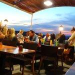 Terrasse avec vue panoramique sur lr Luberon