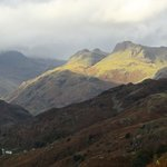 across to The Langdales