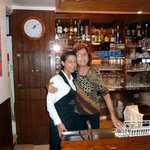 Nonna Franca und im Service Federica