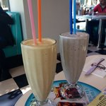 Try the milkshake a - white choc and Oreo, and peanut butter were awesome!