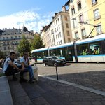 Grenoble City's Trams system