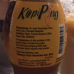 Nothing grand about this kopi ping, it has slightly more kick than most local coffees in KK