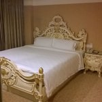 Bed in Versailles room
