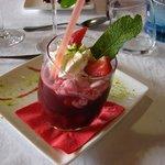 Mon dessert : Soupe de fruits rouges