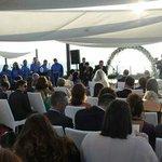 Il nostro matrimonio con rito civile in spiaggia e coro gospel.