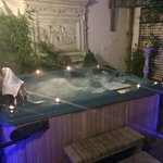 Sanctuary spa room at night! Amazing