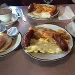 Great breakfast! Loved the sausage.