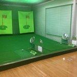 golf target room