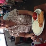 Great Southern Breakfast: Flounder and grits