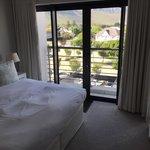 Hauptschlafzimmer mit tollem Ausblick
