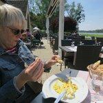 Restaurant la Rousseliere Golf chateau de Cheverny