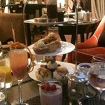 Afternoon tea at The Athenaeum Hotel's Garden Room