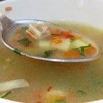 суп из тиляпии