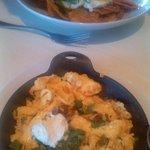 Corizo Scrambler & Duck Chilaquiles