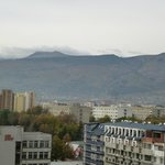 mount Vitosha in the distance