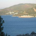Vue du haut du village de Torba