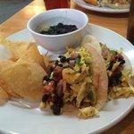 The Gulley Creek aka fish tacos. Delish!