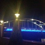 View from Da Vinci Restaurant - Bridge over the Odra River