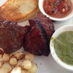Tender Anticuchos beef heart shish-ka-bob