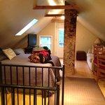 Beautiful bedroom/living area