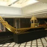 Boat Decoration beside dining area