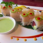 Specialty roll and pieces