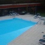 Zwembad van Judocabeach.