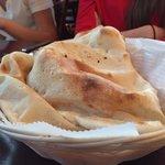 Amazing fresh hot pita bread