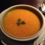 Hakkasan crab and corn soup